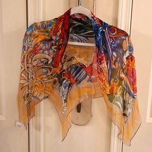 Ed Hardy Signature scarf Audigier